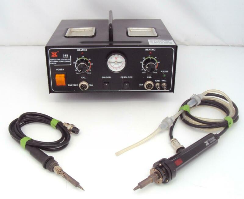 Xytronic 988 Soldering and Desoldering Station Tested Good
