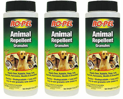 Granules Deer Animal Repellent Dog Skunk Raccoon Lawn Garden Natural Granular