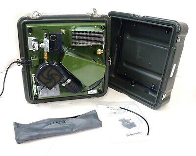 Aseptico Military Dental Unit Portable Air Compressor Aa-75cf Usa 34 Hp 3.2 Cfm