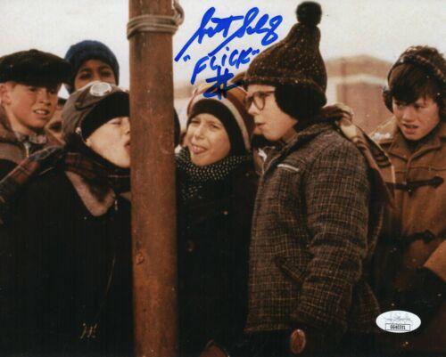 "Scott Schwartz Autograph Signed 8x10 Photo - Christmas Story ""Flick"" (JSA COA)"