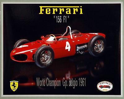 Ferrari 156 Sharknose 1961 Berghe von Trips - Revival 1:20 Bausatz kit - NEU