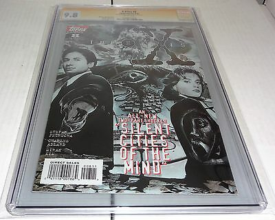 X-Files #8 CGC SS 9.8 Signature Autograph DAVID DUCHOVNY Signed Topps Comics