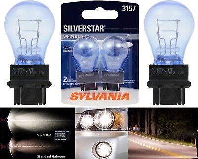 Sylvania Silverstar 3157 26.9/8.3W Two Bulbs Turn Signal Stop Brake DRL Marker