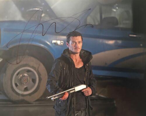 Luke Evans signed 10x8 photo IMAGE A (UACC AFTAL RACC Registered dealer)