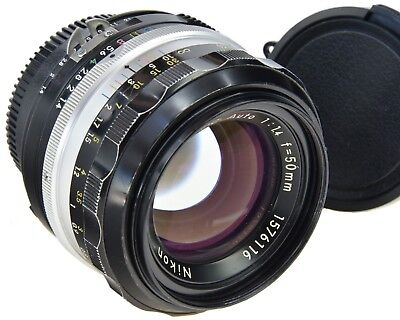 NIKON Ai'd 50mm 1.4 Nikkor-S·C comprar usado  Enviando para Brazil
