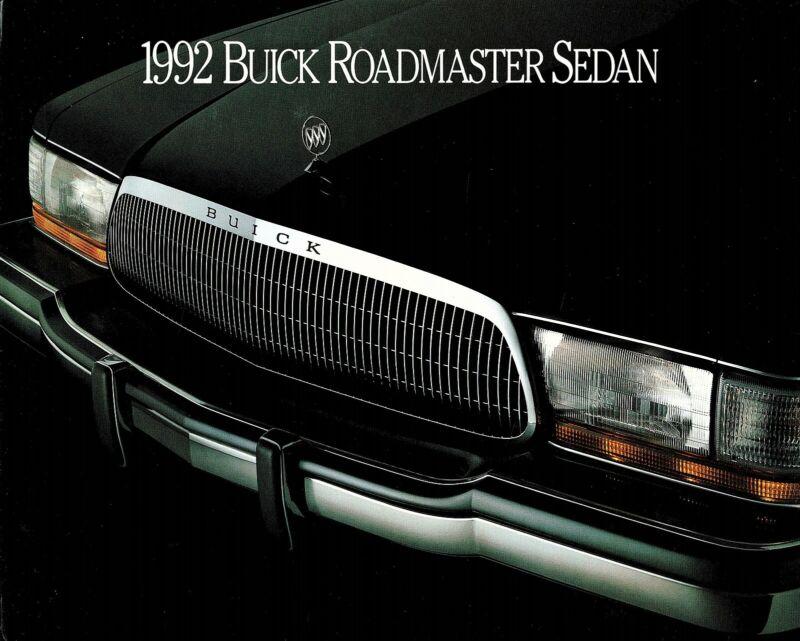 1992 Buick Roadmaster and Roadmaster Limited Dealer Sales Brochure