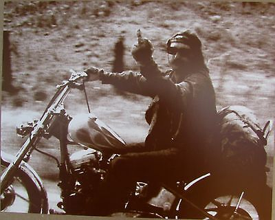 EASY RIDER MOVIE DENNIS HOPPER SEPIA POSTER PRINT 11 x 14  POSTER NEW