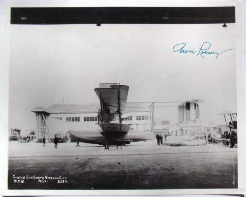 Grover Loening Aviation Pioneer Founded Loening Aircraft Company Signed Photo
