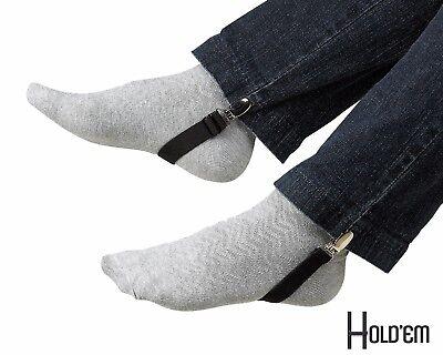 """New Stirrup 4"""" Hold'Em Boot Straps Elastic Stirrup-Adjustable Leg Clip"""