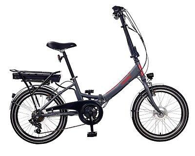 Telefunken Falt E-Bike Kompakt F800 - 20 Zoll faltbares Elektrofahrrad Pedelec