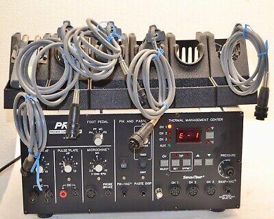 Pace Prc Pps 400 Thermal Management Center Solder Desolder W Irons Holder Pedal