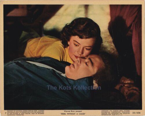 REBEL WITHOUT A CAUSE-James Dean/Natalie Wood-Original 8 x 10 Color Photo-1955