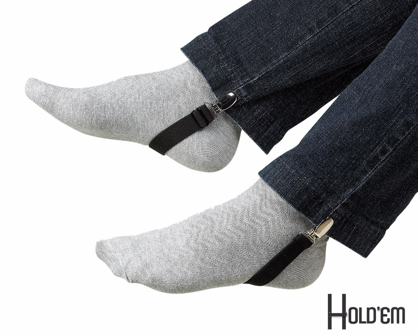 New Adjustable Hold'Em Boot Straps Elastic Stirrup-Adjusta