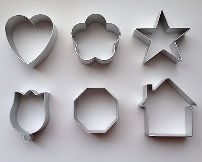 Tulip Cutter - Cookie Cutter Baking Tools House Tulip Heart Star Octagon Flower Dough Tools
