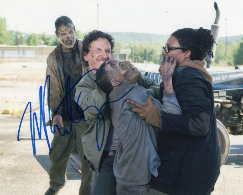 Michael Traynor The Walking Dead Nicholas Signed 8x10 Photo w/COA #1