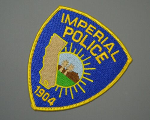 Imperial California Police Prototype Patch ++ Mint CA