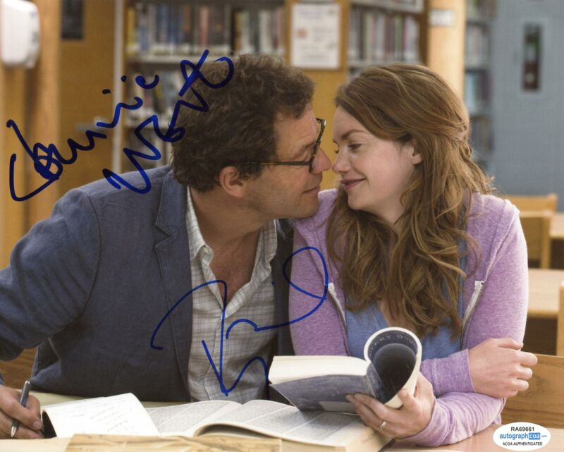 "Dominic West & Ruth Wilson ""The Affair"" AUTOGRAPHS Signed 8x10 Photo ACOA"