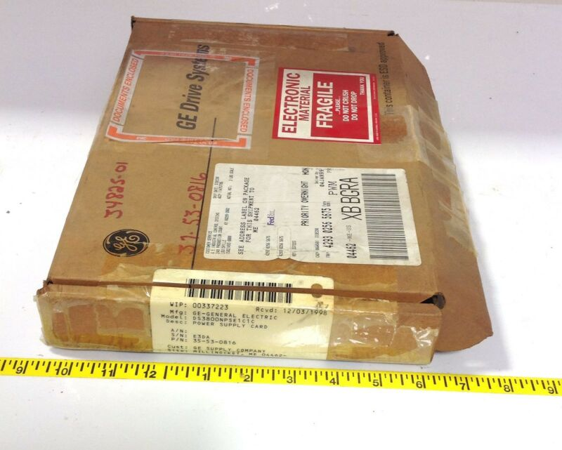 Ge Drive Systems Power Supply Card Ds3800npse1c1c 102876