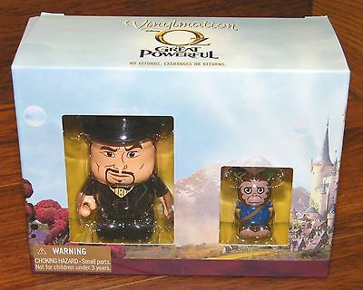 Disney Vinylmation Oz the Great and Powerful 2 Figurines Oscar Diggs & Finley - Oz The Great And Powerful Oscar Diggs