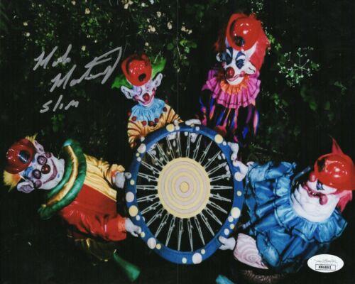 Mike Martinez Autograph Signed 8x10 Photo - Killer Klowns (JSA COA)