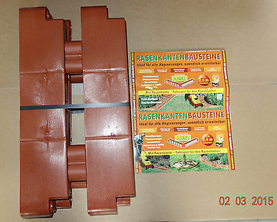 Juwel 4 Lawn Edges Building Blocks Terracotta Extensions Beeteinfassungen 20302