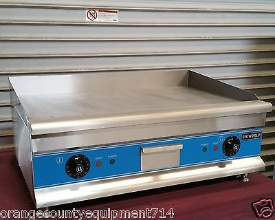 New 30 Electric Griddle Flat Grill Uniworld Ugr-ch30 2947 Plancha Commercial