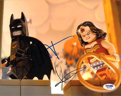 Will Arnett Colbie Smulders Signed 8X10 Photo The Lego Movie Psa Dna Autographed