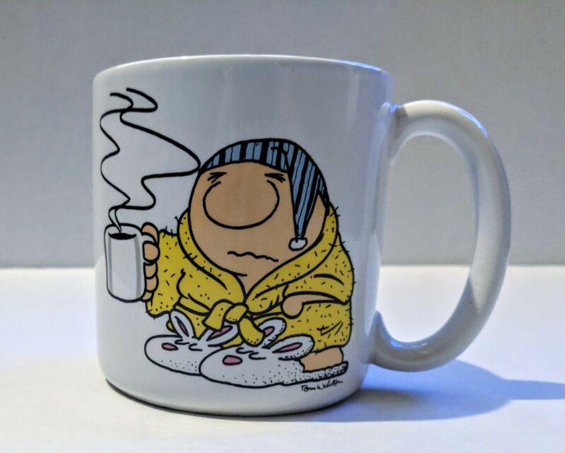 Vintage 1987 Ziggy Coffee Mug Cup