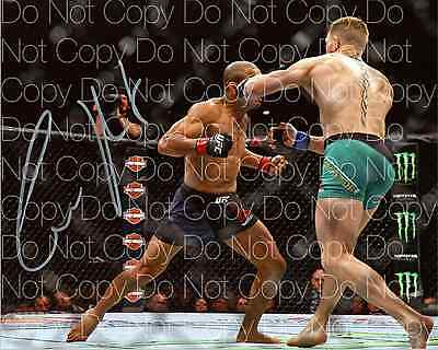Conor Mcgregor signed UFC MMA Champion 8X10 photo picture poster autograph RP 2