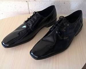 Mens Stacey Adams Glossy Black Lace Up Dress Shoes US10, 44 Hoppers Crossing Wyndham Area Preview