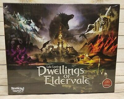 Dwellings of Eldervale Legendary Ed Kickstarter Elemental Cover SEALED