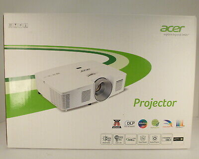 Acer H5380BD DLP Projector HDMI VGA S-VIDEO AUDIO IN AUDIO OUT NEW