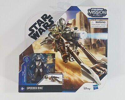 Star Wars Mission Fleet The Mandalorian & The Child Baby Yoda Speeder Bike New