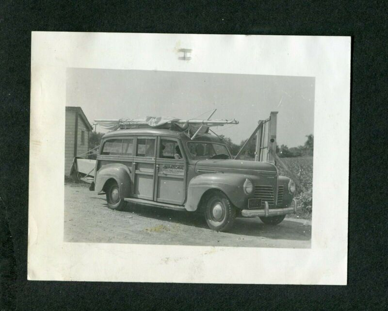 Vintage Car Photo 1940 Plymouth Woodie Wagon 398067