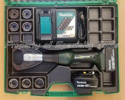 Greenlee Gator Ek628l 6 Ton Battery Hydraulic Crimper Cordless Crimping Tool Die