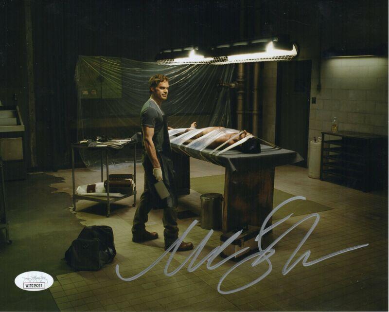 Michael C. Hall Autograph 8x10 Photo Dexter Signed JSA COA 6