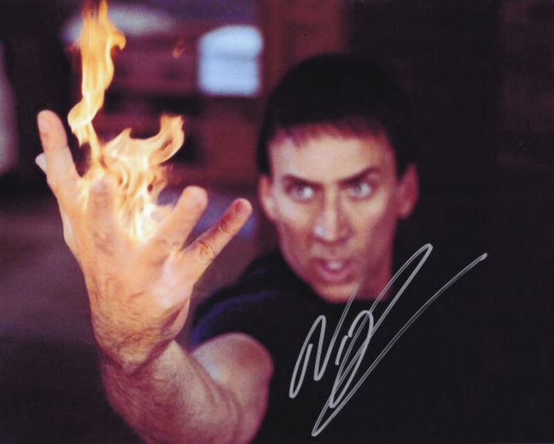 Nicolas Cage #1  8 x 10 Autograph Reprint Ghost Rider Kick-Ass National Treasure