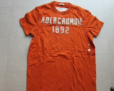 Abercrombie & Fitch Muscle T-Shirt For Men Orange/Yellow/Green Sz S/L/XL-NWT $30