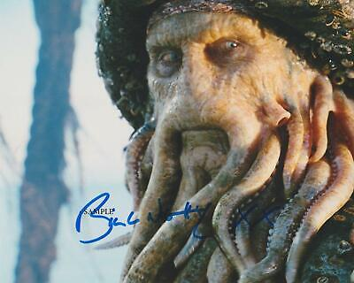 BILL NIGHY #1 REPRINT SIGNED 8X10 PHOTO AUTOGRAPHED CHRISTMAS GIFT MAN CAVE ()