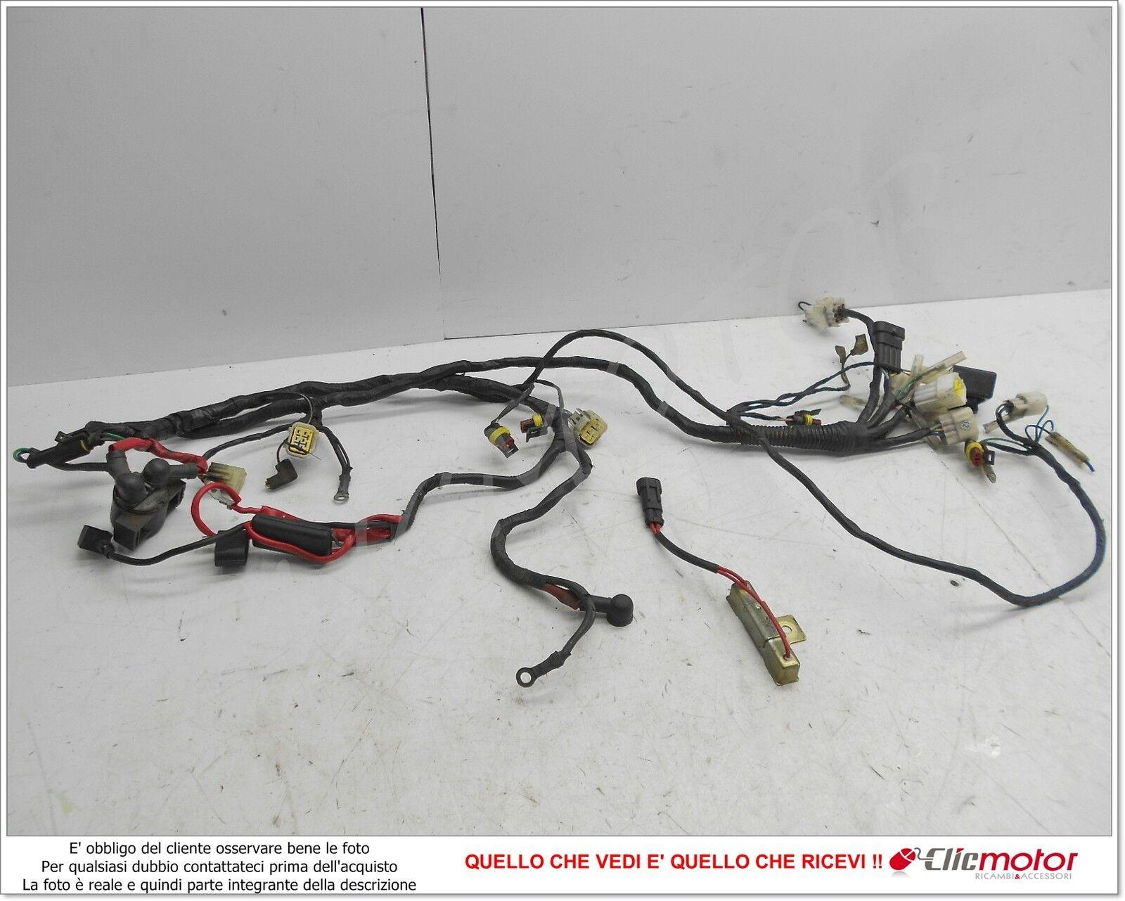 Schema Elettrico Nrg : Impianto elettrico cablaggio rele avviamento for benelli pepe 50