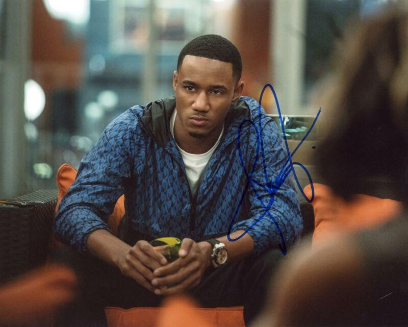 """Jessie T. Usher """"Survivors Remorse"""" AUTOGRAPH Signed 8x10 Photo ACOA"""