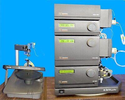 Amersham Biosciences Akta Purifier 100 Fplc System Frac-950 Ge Healthcare