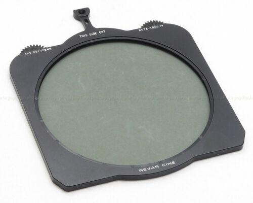New Revar Cine ROTA-TRAY 4x5.65 x 138MM Circular SCHOTT GLASS Polarizer