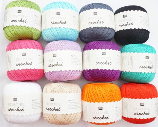 £1.99 Rico essentials Crochet