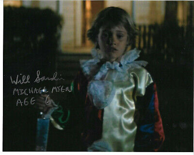 Young Michael Myers Halloween (Will Sandin Signed 8x10 Photo Autographed, Halloween 1978, Young Michael)