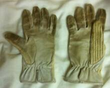 Horse Gear - Childs Cream  Leather & Cotton Riding Gloves Strathpine Pine Rivers Area Preview