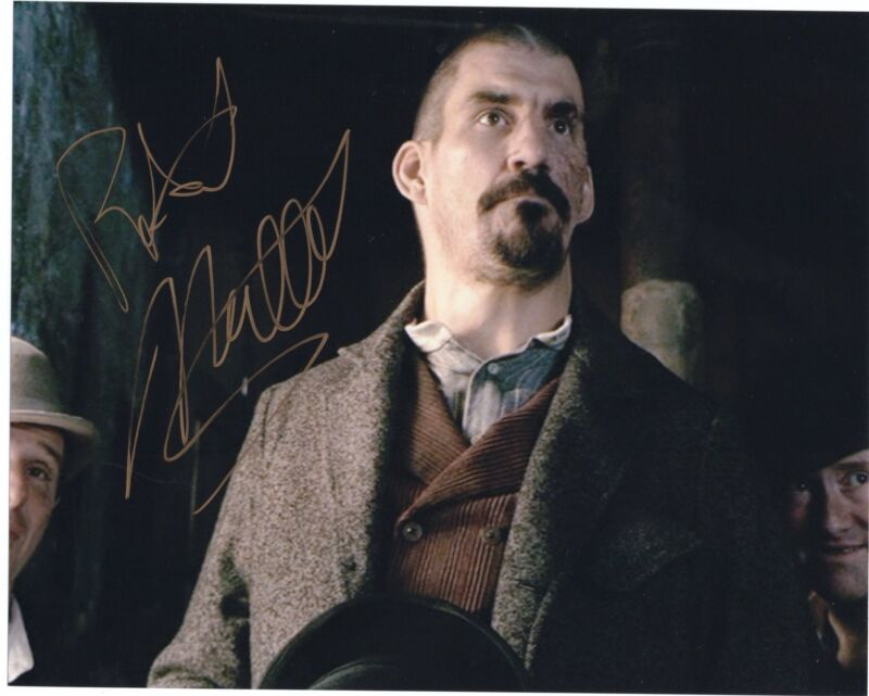 Robert Maillet Sherlock Holmes Movie Signed 8x10 Photo w/COA