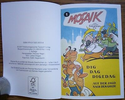 Neuerscheinung ** Digedags Mosaikbuch Hegen ** Set TaschenMosaik Band 1-8 ** neu