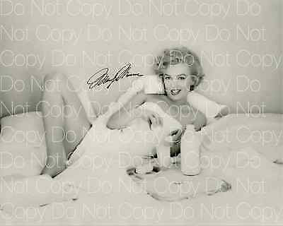 Marilyn Monroe signed sexy beautiful 8X10 photo picture poster autograph RP 0