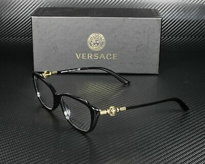 VERSACE VE3206 GB1 Black Demo Lens 54 mm Women's Eyeglasses